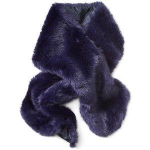 Banana Republic faux rabbit scarf
